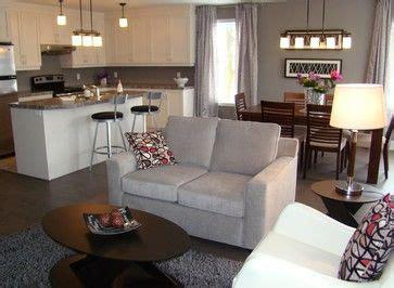 cuisine et salon aire ouverte photo salle de séjour cuisine air ouverte