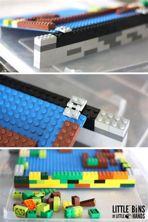lego for lego water activity building dams stem idea