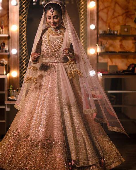 lehenga colours    big   pink bridal