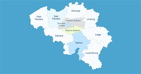 Interactive Map of Belgium [WordPress Plugin]