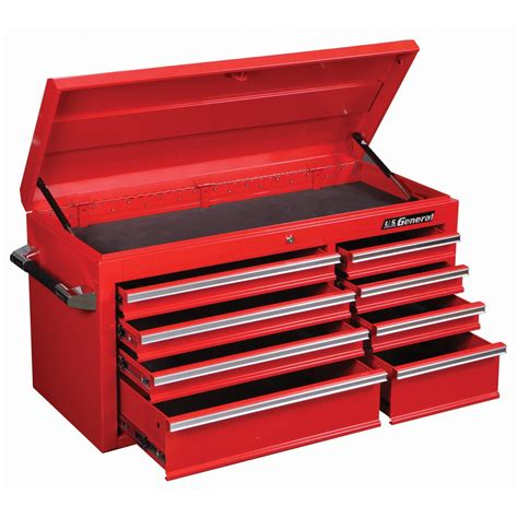 harbor freight tool cabinet 44 in 8 drawer glossy roller cabinet top chest