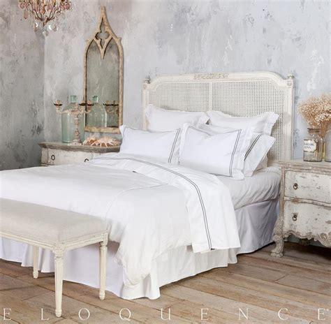 Eloquence® Blanka Cane King Headboard In Antique White