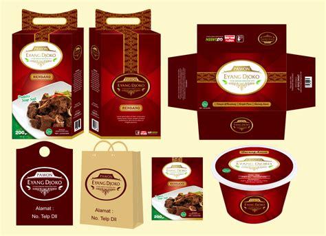 sribu desain kemasan desain packaging pawon eyang djoko