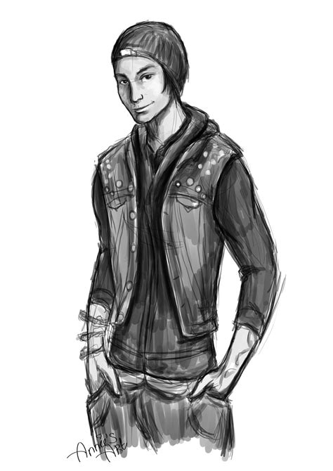 Infamous Second Son Sketch By Kennienoname On Deviantart
