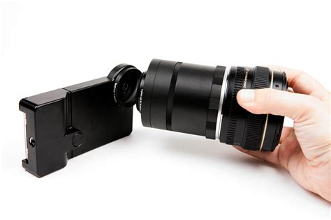 iphone dslr lens iphone slr mount turns your iphone into dslr