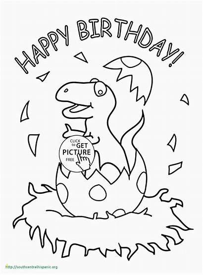 Coloring Birthday Happy Pages Printable Card Uncle