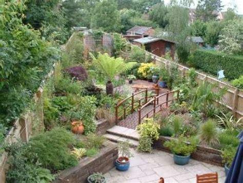 long narrow garden design  interior design