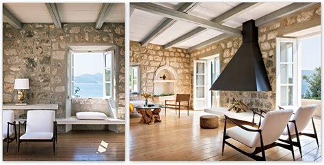 Architecture. Interior Modern Home Design Ideas With Stone