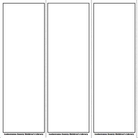Printable Bookmark Template Vastuuonminun