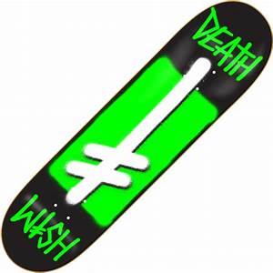 Deathwish Skateboards Deathwish Black Green Box D Power ...