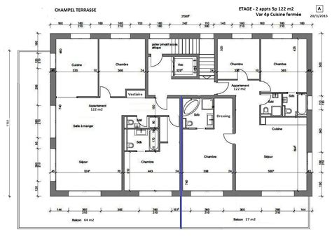 plan cuisine ferm馥 appartement d exception centre ville ève nessell