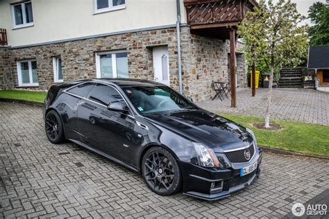 Cts V Coupe 2015 by Cadillac Cts V Coupe Hennessey V700 25 May 2015 Autogespot