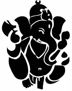 Hindu clipart lord ganesh - Pencil and in color hindu ...