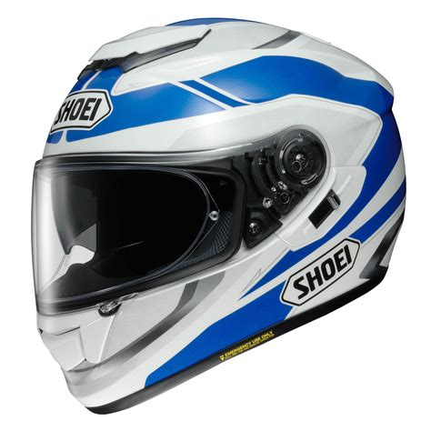 shoei gt air 2 shoei gt air swayer tc 2 helmet blue white motorcycle accessories australia scm