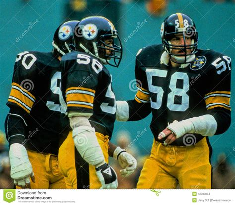 steel curtain pittsburgh steelers lambert cole and kohrs editorial stock image image 42033094