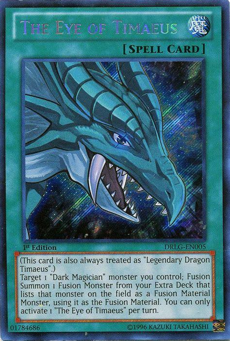 eye of timaeus deck reddit the eye of timaeus drlg en005 dragons of legend yugioh