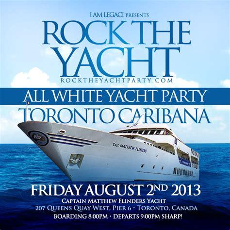 Boat Detailing Flyers by Rock The Yacht Toronto Caribana Caribbean Carnival 2013