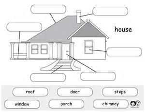 House Printable Kindergarten Worksheets