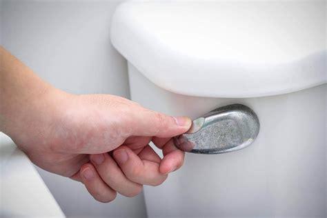 flush  toilet   water  shut