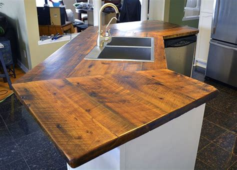 reclaimed barn wood countertops wwwpaulstimberca lush