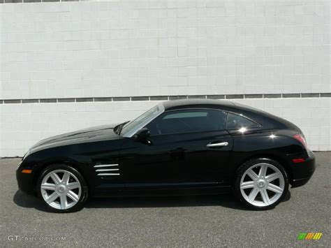 Black Chrysler Crossfire by 2006 Black Chrysler Crossfire Limited Coupe 8115808