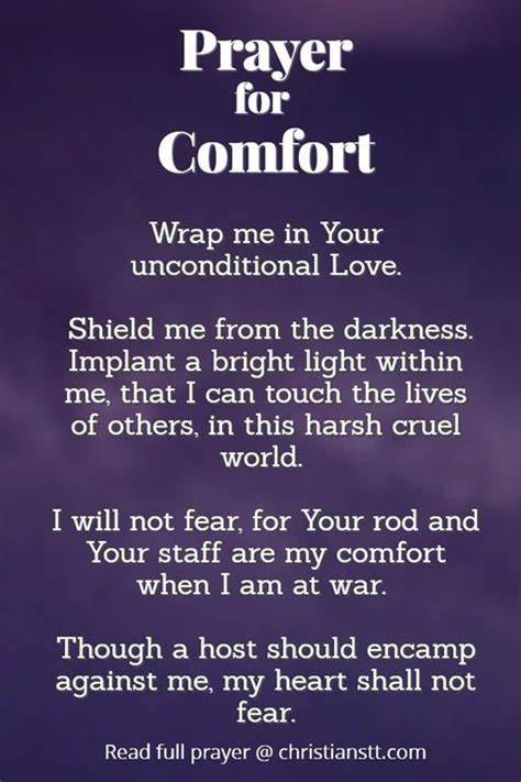 Let the power of god's word surround you with strength and peace with the helpfinder® bible. Prayer For Comfort in tough times | Prayer for comfort, Prayer for guidance, Prayers