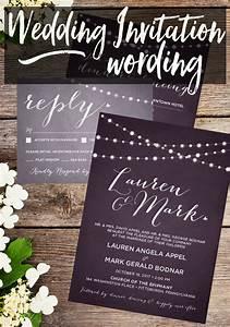 Wedding invitation wording o taylor bradford for The knot wedding invitation language
