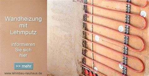 wandheizung mit lehmputz lehmbau neuhaus lehmputz fachwerkhaus sanierung mit wandheizung