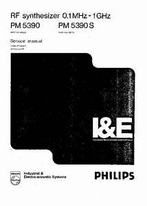Philips Pm5390  Service Manual  Repair Schematics