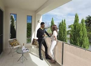 Agrafeuse Pour Brise Vue : brise vue balcon et terrasse synth tique longueur 5 m tres ~ Mglfilm.com Idées de Décoration
