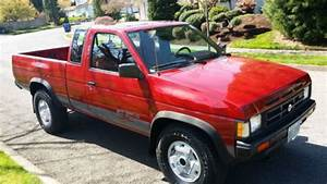 Purchase Used 1990 Nissan Pickup King Cab 4x4 5sp Se
