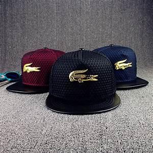 NEW Mens Womens Snapback Hat The Crocodile Baseball Caps ...