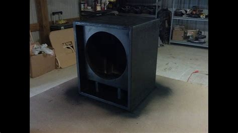 Lifier Cabinet Design by Guitar Speaker Cabinet Time Lapse Build Thiele Design