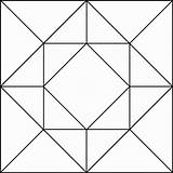 Geometric Clipart Quilt Pattern Block Patterns Square Clip Barn Geometry Quilts Designs Simple Blocks Quilting Etc Cliparts Stained Glass Wood sketch template