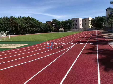 Epdm Rubber High Quality IAAF Certification Athletic ...