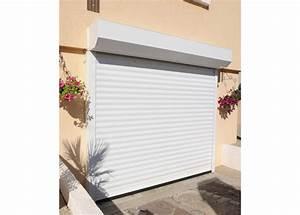 Porte de garage a enroulement domeau concept for Porte de garage rideau