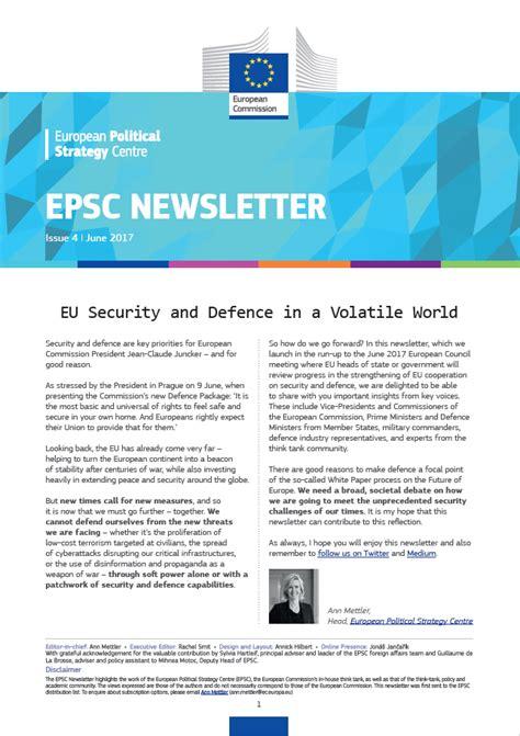 Eu Security And Defence In A Volatile World  European