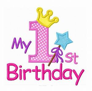 First Birthday Background Images | Age Cards | Pinterest ...
