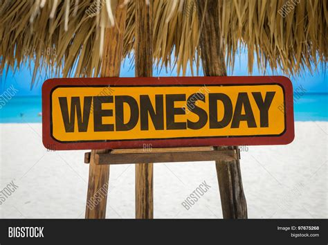 Wednesday Sign With Beach Background Stock Photo & Stock. Violent Signs. Number 7 Signs. Showers Signs Of Stroke. Inventory Signs Of Stroke. Labels Signs. Road Safety Signs. Sign Moon Signs Of Stroke. Booster Signs