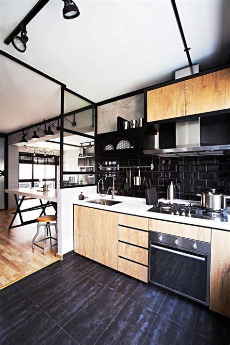 kamasoutra dans la cuisine decoration cuisine noir et gris