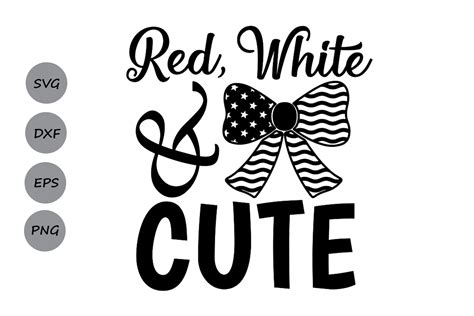 We rounded up another great collection of cricut cut files, and this month we are sharing our 4th of july cut files. Red White and Cute svg, 4th of July SVG, Patriotic SVG ...
