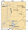 Map of study area in Eddy Co., New Mexico, showing ...