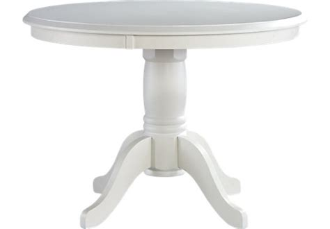 brynwood white pedestal table dining tables colors
