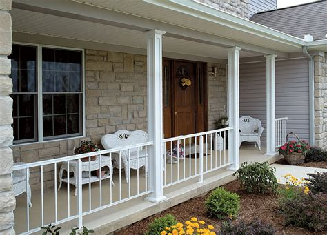 aluminum porch columns aluminum porch railings and posts