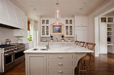 small and functional glass dining tables square prep sink transitional kitchen gwyn duggan design