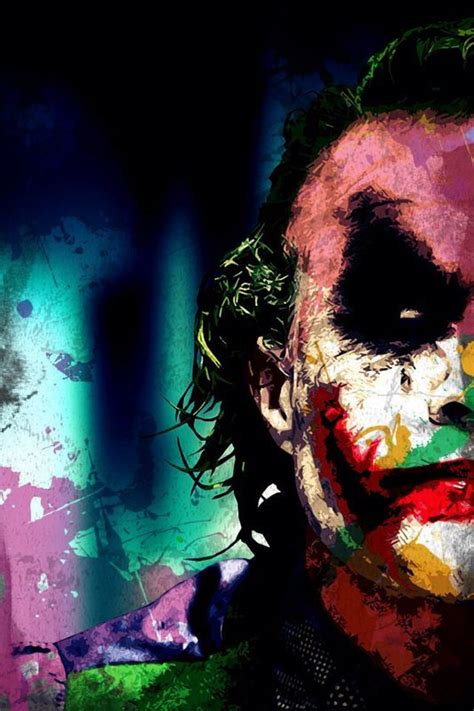 Batman Joker Joker Hd Wallpaper For Mobile by Colourful Joker Wallpapers Joker Iphone Wallpaper