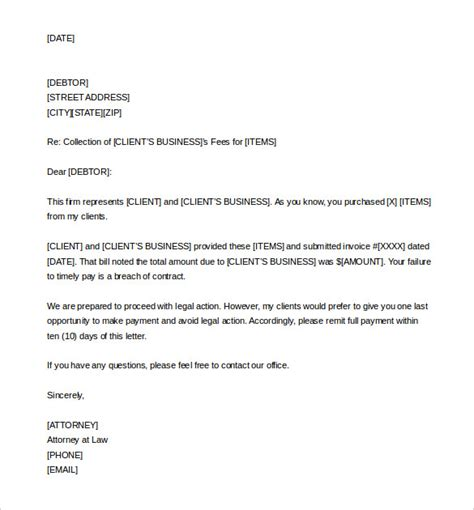 demand letter template ipasphoto