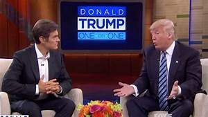 President Trump nominates Dr Mehmet Oz to be on his sports ...