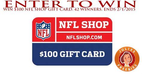 enter  win   nfl shop gift card  winners
