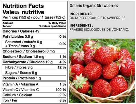 strawberry facts strawberries nutrition value